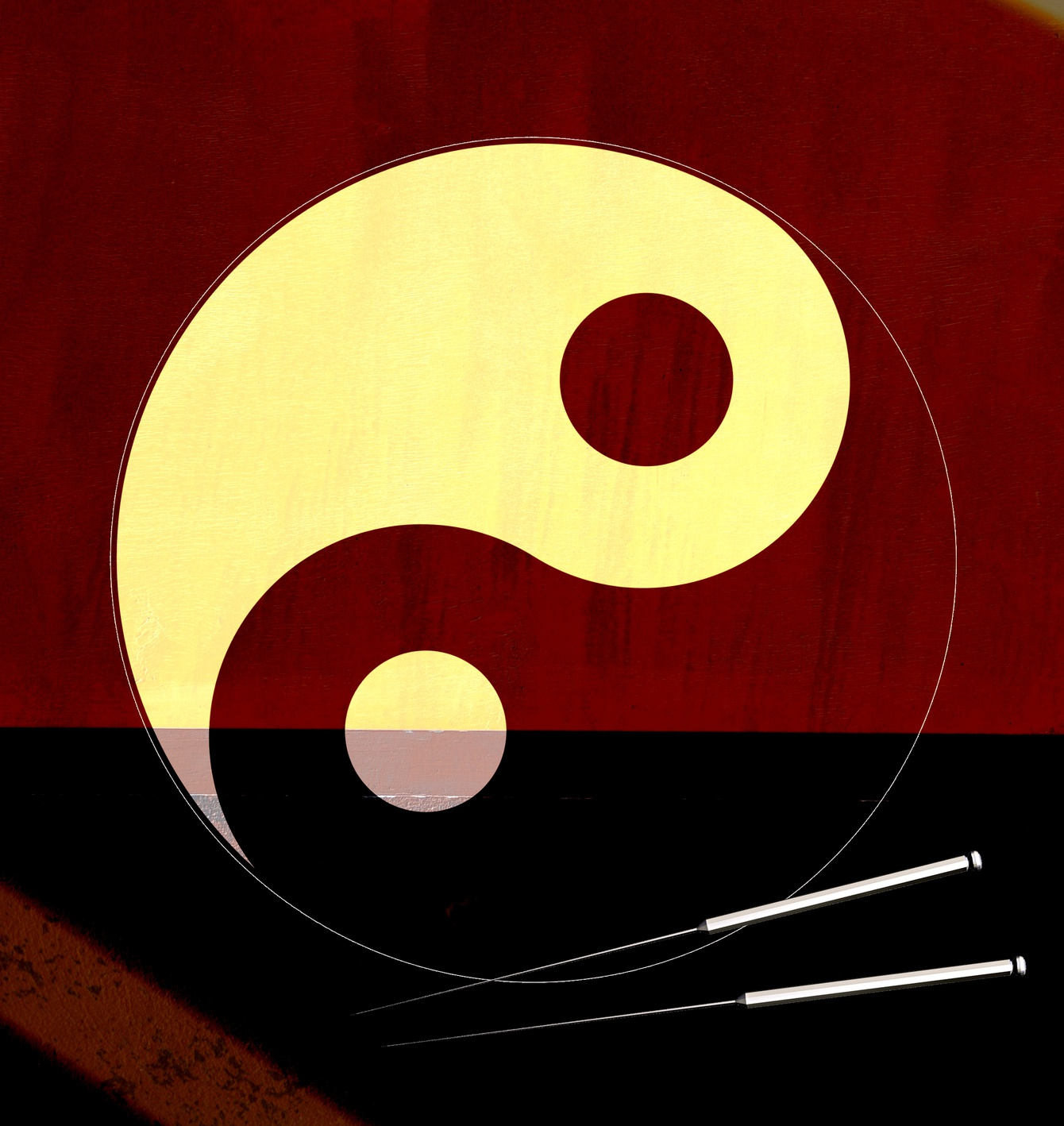 BronzeYinyang_acupuncture.guru, Nailsworth Glos